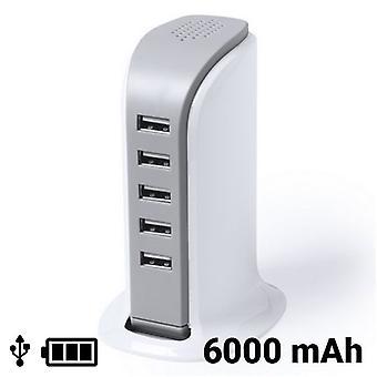 USB bordsladdare 6000 mAh