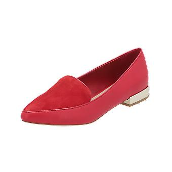 ALDO ABBATHA Women's Loafer Red Slip-Ons Business Shoes