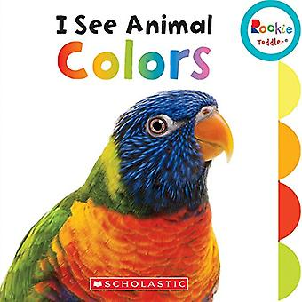 I See Animal Colors (Rookie Toddler) by Laine Falk - 9780531228920 Bo
