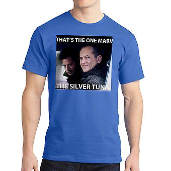 Home Alone That's The One Marv Quote Men's Royal Blue T-shirt