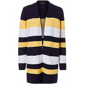 Olsen Bold Striped Cardigan