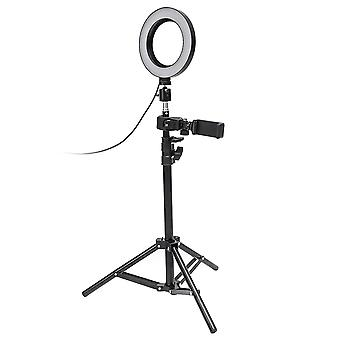 Selfie Lamp/Ring Light (17 cm) and stand