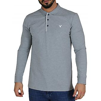 D-ROCK Dustin Polo Shirt Grey
