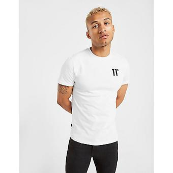 New 11 Degrees Men's Core Short Sleeve T-Shirt White