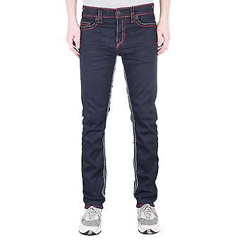 True Religion Geno Relaxed Slim No Flap Super T Inglorious Indigo Denim Jeans