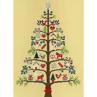 Bothy Threads Cross Stitch Kit - Scandi Tree