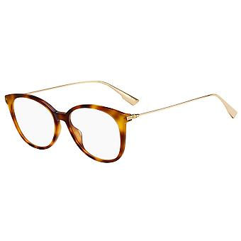 Dior SIGHT O1 086 Dunkle Havanna Brille