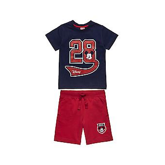 Alouette Boys' Disney Mickey Mouse Set Type 28 And Shirt