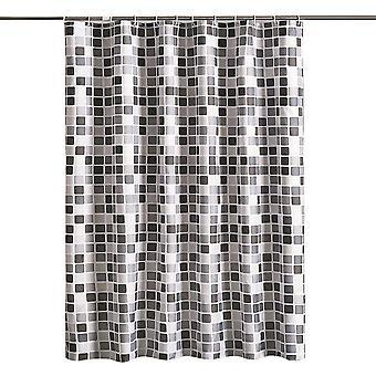 YANGFAN Thickened Waterproof Mosaic Shower Curtain