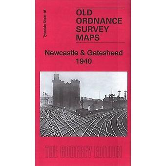 Newcastle & Gateshead 1940 - Tyneside Sheet 18.3 by Anthea Lang -