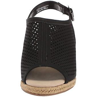 Easy Street Womens Stacy Peep Toe Casual Slingback sandaler