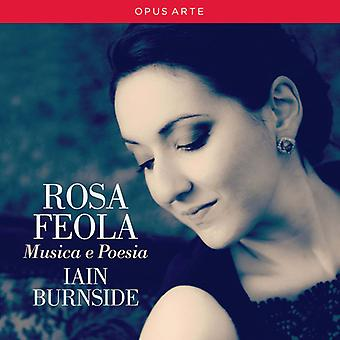 Liszt / Feola / Burnside - Musica E Poesia [CD] USA import