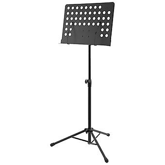 Orchestral Music Stand by World Rhythm - Height Adjustable Sheet Music