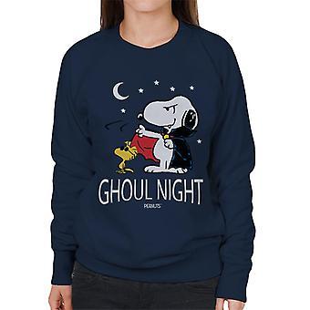Peanøtter Ghoul natt Snoopy & Woodstock kvinner ' s Pullover