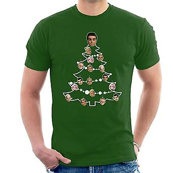 Thunderbirds Christmas Tree Character Bauble Men's T-Shirt