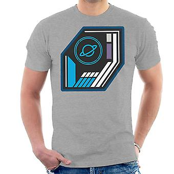 The Crystal Maze Basic Planet Badge Men's T-Shirt