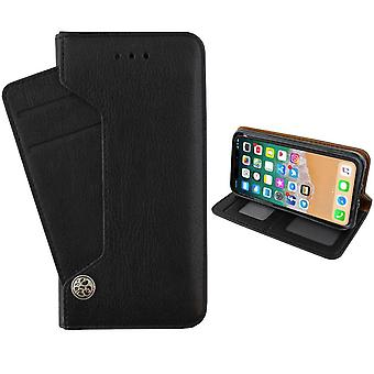 Colorfone iPhone XS MAX Carteira Case Deluxe (PRETO)