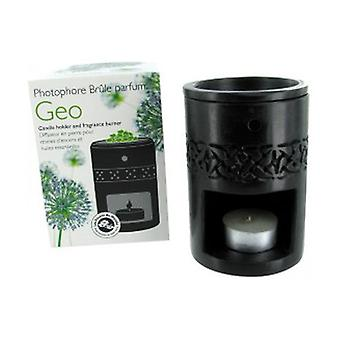 Black Stone Resin Diffuser with Celtic Frieze 1 unit