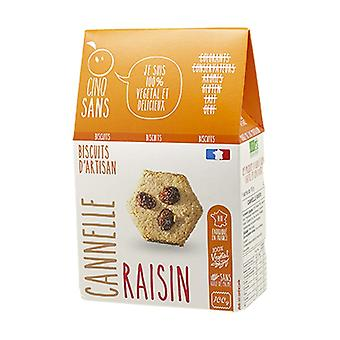 Biscuits Cannelle Raisin bio 100 g