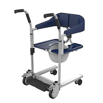 Multi Function Machine Can Take A Bath With A Toilet Seat - Stepper Commode Wheelchair For Elderly