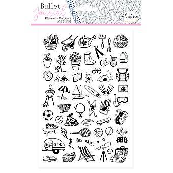 Timbres en mousse Aladine Bullet Journal à l'extérieur