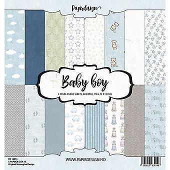 Papirdesign Baby Boy 12x12 Inch Paper Pack