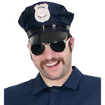 Politiet Hat Cap politiet blå
