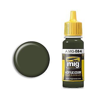 Ammo by Mig Acrylic Paint - A.MIG-0084 Nato Green (17ml)