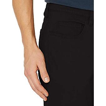 Goodthreads Miehet's Skinny-Fit 5-Pocket Chino, Musta, 31W x 34L