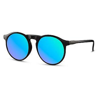 Sunglasses Unisex Panto black/smoke (CWI2457)