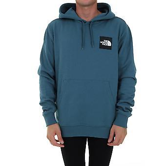 The North Face Nf0a4syq31 Men's Blue Cotton Sweatshirt