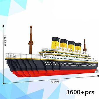 Architecture City Set Landmarks Titanic Ship- Building Blocks Educational