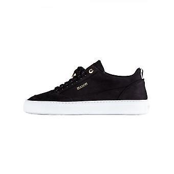 Mason Garments Black Tia Nubuck Sneaker