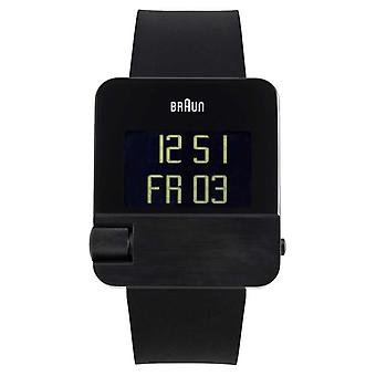 Braun Men's | Prestige | Digital | Black Rubber BN0106BKBKG Watch