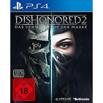 Dishonored II PS4 Játék (Német Box - ENG/FRE/GER In Game)