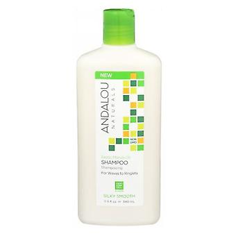 Andalou Naturals Exotic Marula Oil Silky Smooth Shampoo, 11.5 Oz