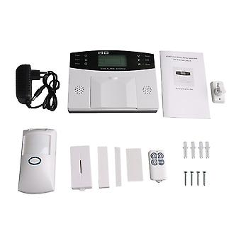Home Security System Wireless GSM Alarm Intelligent LCD Display Antipet