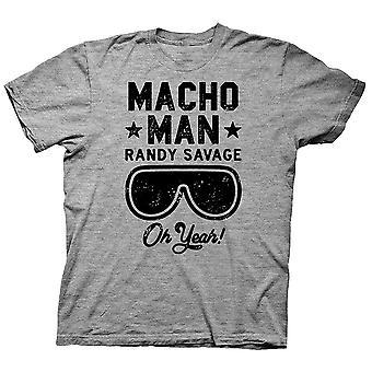כן, גבר מאצ'ו, רנדי סאבאג', חולצה