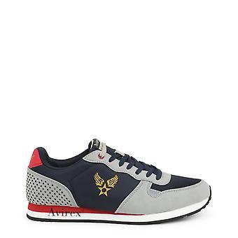 Avirex av01m40604 ανδρικά δερμάτινα αθλητικά παπούτσια