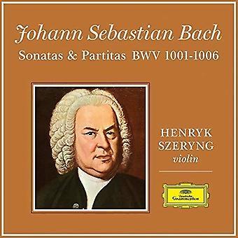 Bach / Szeryng, Henryk - J.S.Bach: 6 Sonatas & Partitas for Violin Solo [Vinyl] USA import