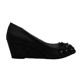 Karen Scott Women's Schoenen Coraa Peep Toe Casual Platform Sandalen