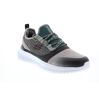 Skechers Matera 2.0 Belloq Mens Gray Canvas Lifestyle Sneakers Shoes