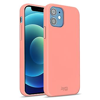 Case Apple iPhone 12 Mini Silicone Premium Soft Touch Soft Feeling Jaym Pink