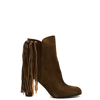 Etro Ezbc220005 Women's Brown Suede Ankle Boots