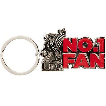Liverpool No1 Fan Keyring