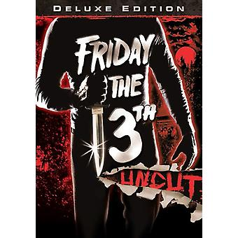 Friday the 13th [DVD] USA import