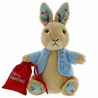 Gund Peter Rabbit Christmas Small Soft Toy