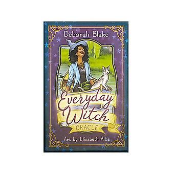 New Everyday Witch Oracle Cards:ask And Know The Mythic Fate Divination