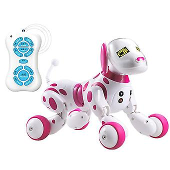 Led Electronic Pet Toy, Wireless Rc Robot Dog, Interactive, Talking Smart,