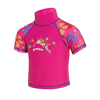 Zoggs Tots Girls Sun Protection Top - Roze